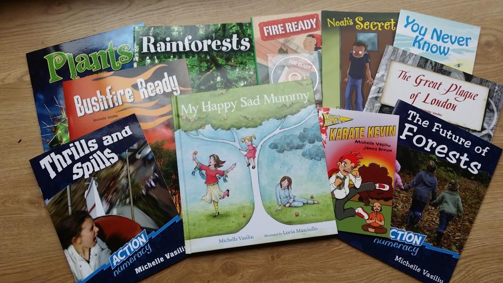 Michelle's books