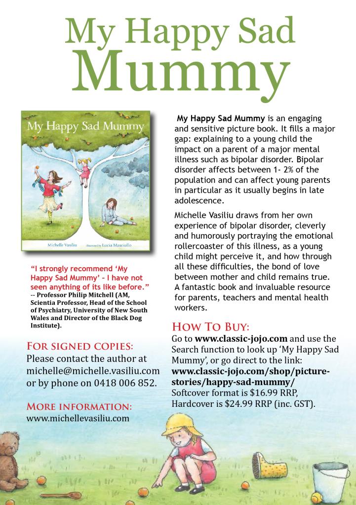 How to order My Happy Sad Mummy flyer
